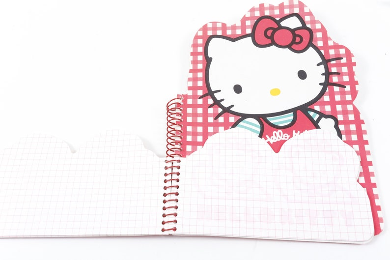 e3e750f29 Hello Kitty Vintage Pocket Notebook Cat Bears Paper Red Sanrio | Etsy