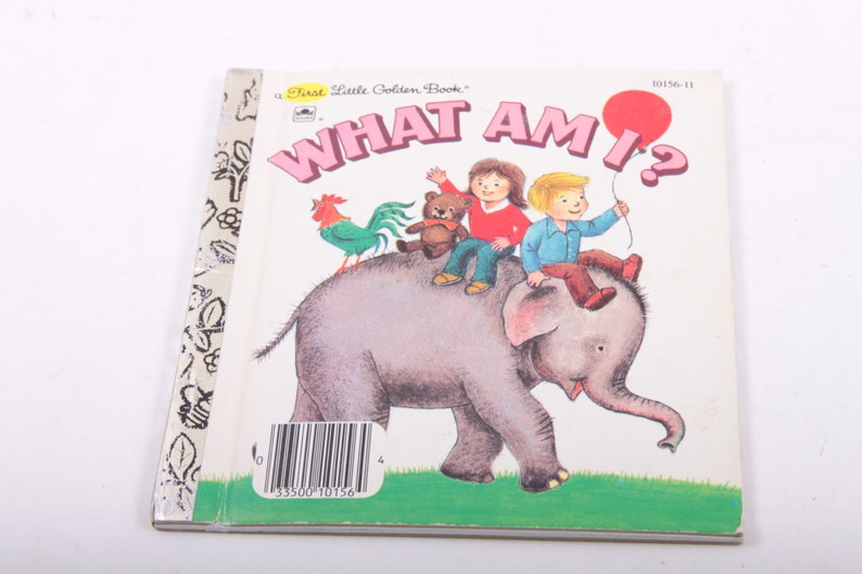 What Am I - A First Little Golden Book - Vintage Children's Book - Animals  ~ The Pink Room ~ ~170726B