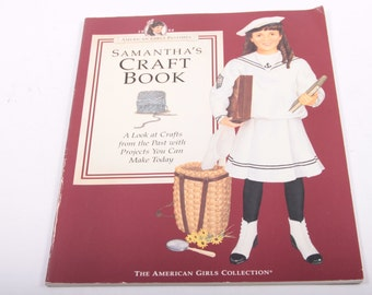 American Girl - Samantha's Craft Book - Samantha - How To - Activities - Vintage Book ~ The Pink Room ~ 161002B
