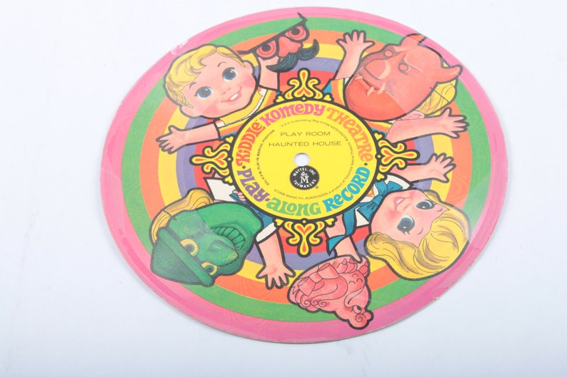 Kiddle Komedy Theater Theatre Vintage Record Accessory Working Small Disc  Accessory Liddle Kiddles ~ The Pink Room ~ 171215