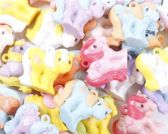 Pick Your Own - My Little Pony Mommy Charms, Charmkins, Plastic Pony Charm, Rare, Hasbro, UK, Mail Order, Miniature PVC Figure