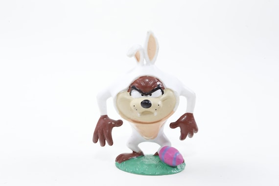 Looney Tunes Easter Egg Little Tasmanian Devil Collection Toy Children PVC Figure Holiday ~ 20-02-64 AA Spring Vintage