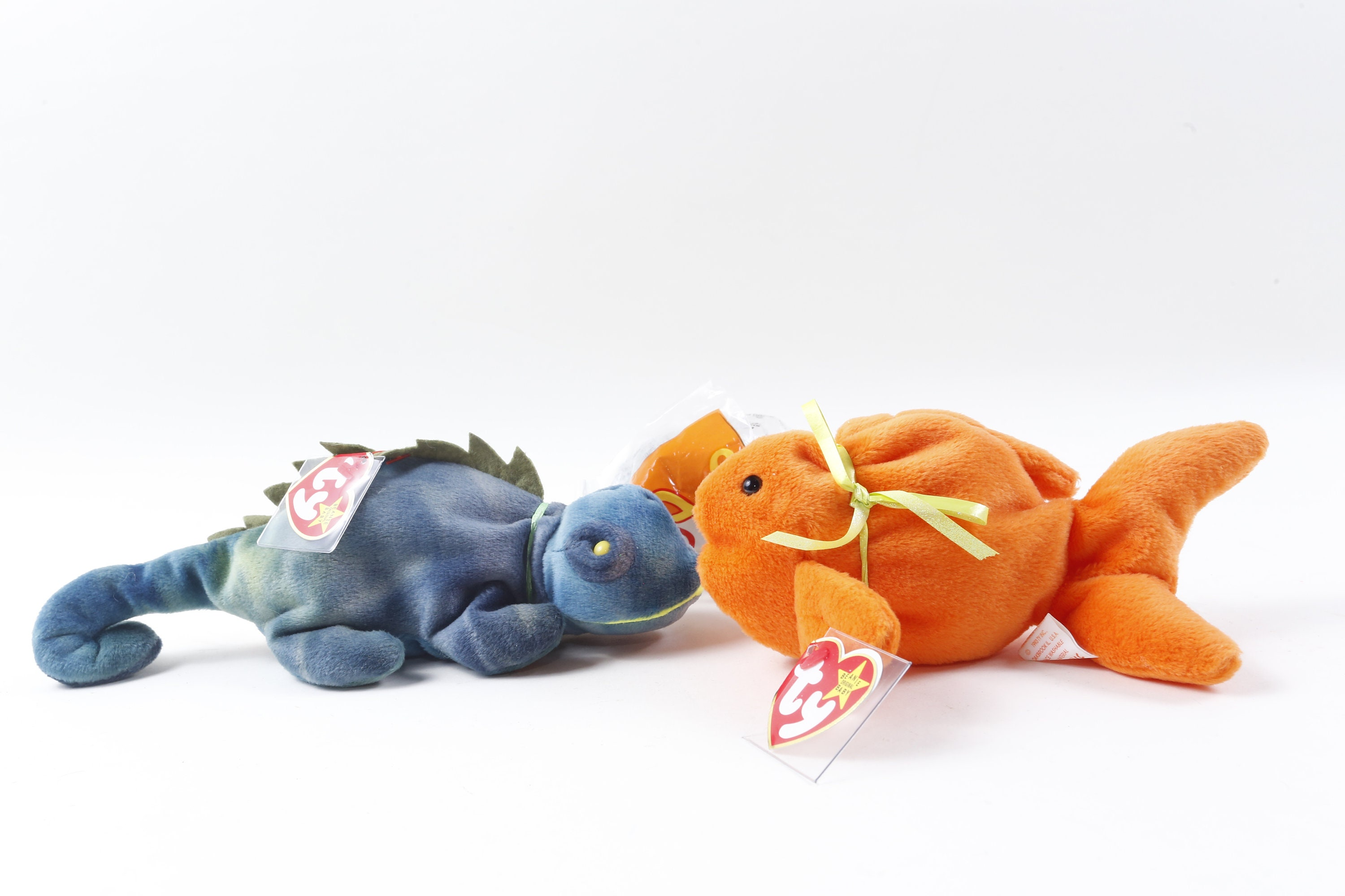 ce238ce8ac3 Vintage beanie baby lizard fish soft plush toy animal etsy jpg 3000x2000 Lizard  beanie baby