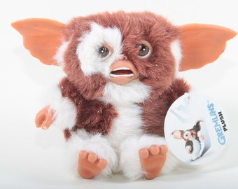 Gremlins, Soft, Plush, Toy, Doll, Brown, White, Movie Character, Children, Collection, Stuffed Animal, Doll, Nostalgia ~ 170202