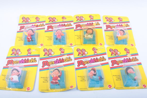"""Unopened MONCHHICHI FIGURE 3/"""" Poseable Toy Choose Your Character!"""