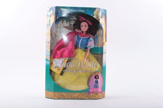 Vintage Disneys Snow White /& The 7 Dwarfs  Birthday cake decoration Set MIP