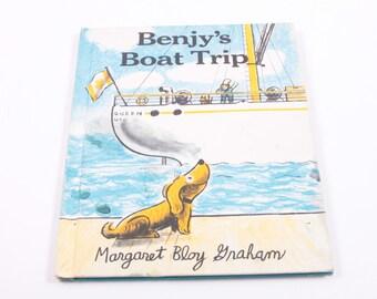 Benjy's Boat Trip - Margaret Graham - Vintage Children's Book ~ The Pink Room ~ 161026B