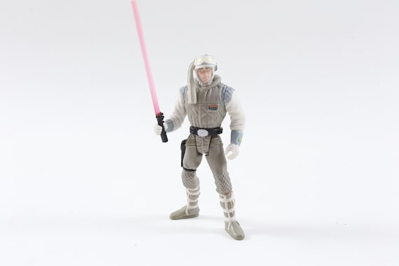 Star Wars Hoth Planet Luke Skywalker Lightsaber Plastic Toy Etsy