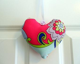 Heart ornaments handmade home decor bowl fillers