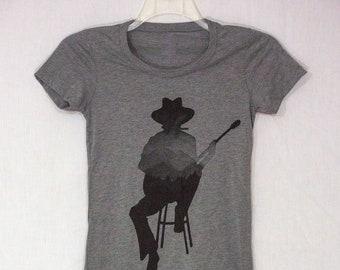 Guitar Player Shirt for Women