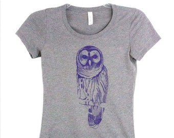 Women's Owl Tee Shirt