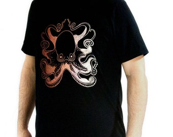 Men's Octopus Tee shirt