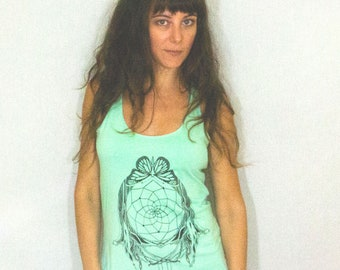 Dreamcatcher, Monarch Butterfly, and Chrystal Tank Top