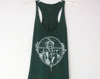 Desert Inspired Graphic Tank for Women