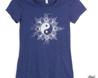 Yin Yang Mandala Women's Tee Shirt