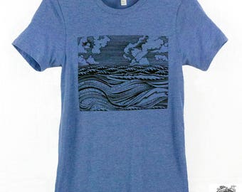 Men's Wave Tee Shirt