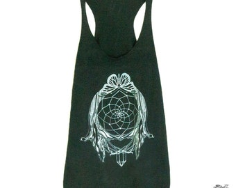 Dreamcatcher Tree of Life Butterfly Women's Tank Top