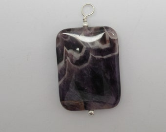 Cape Amethyst and Sterling Pendant