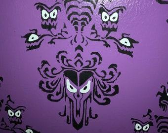Haunted Mansion Wallpaper Disneyland stencil