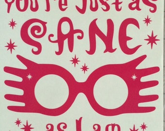 photo regarding Luna Lovegood Glasses Printable known as Luna gles Etsy