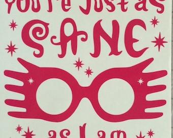 photo regarding Luna Lovegood Glasses Printable known as Luna gles Etsy