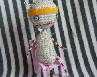Crochet Pattern- Pin Cushion Queen inspired PATTERN ONLY