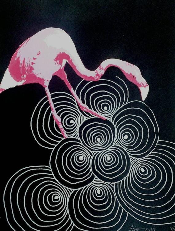 Curious Flamingo