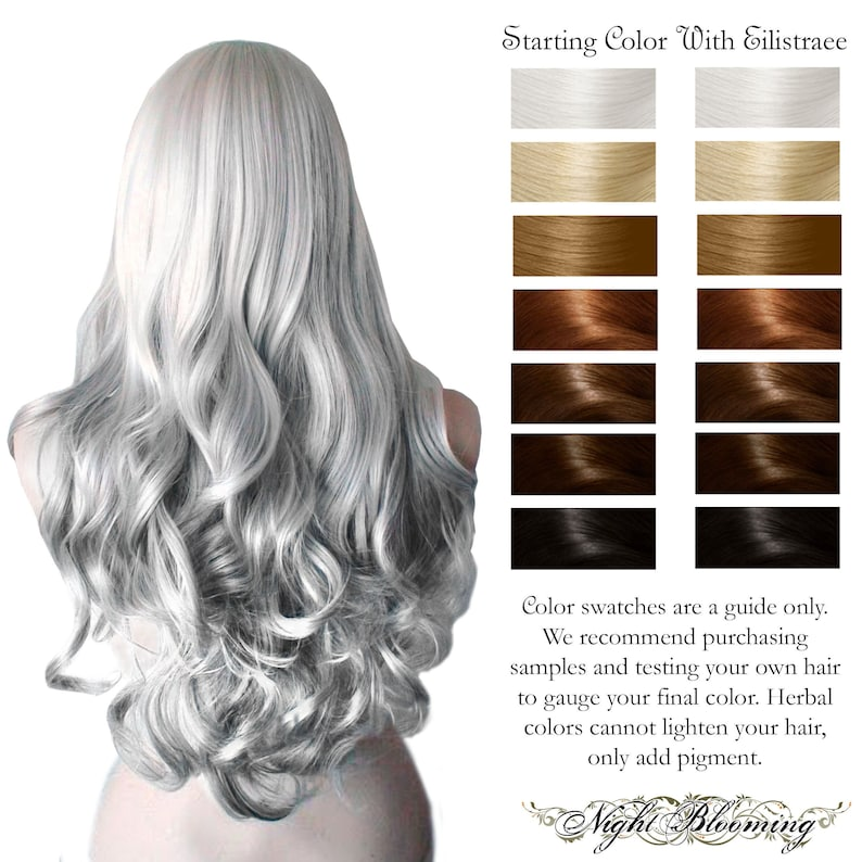 Eilistraee Gray White Colorless Herbal Hair Conditioner 10g image 0
