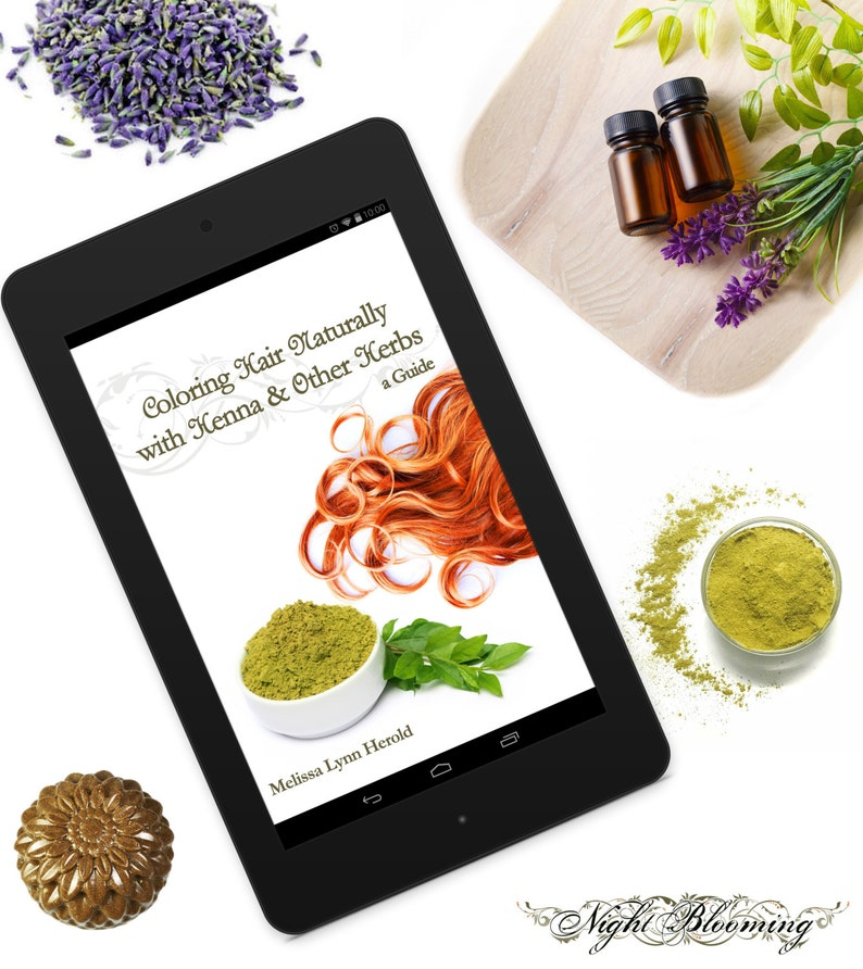 eBook Coloring Hair Naturally with Henna & Other Herbs: A image 0