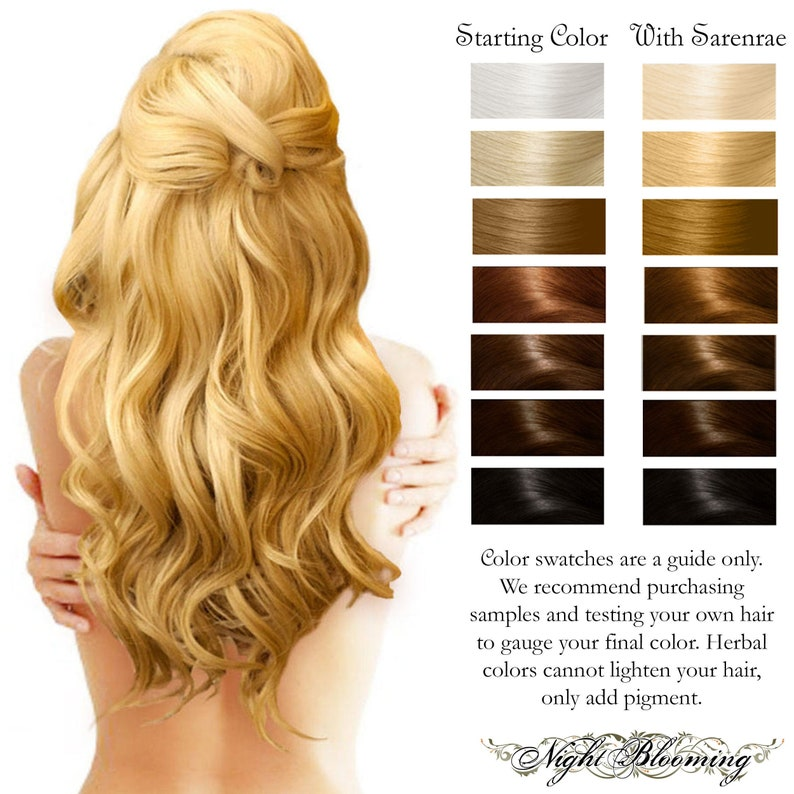 Sarenrae Blonde Herbal Hair Color and Conditioner  100g image 0