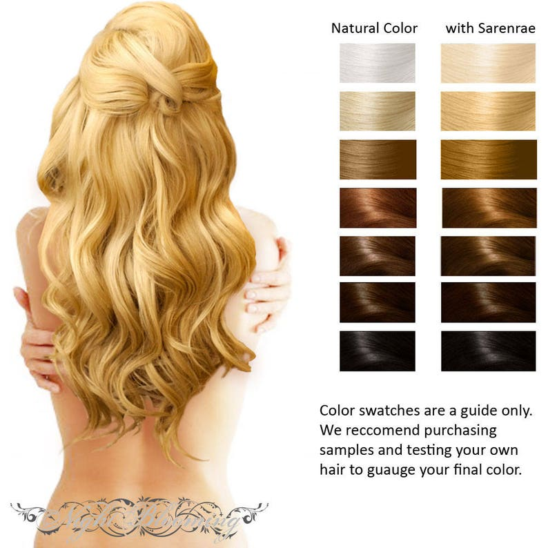 Sarenrae Blonde Herbal Hair Color and Conditioner 100g