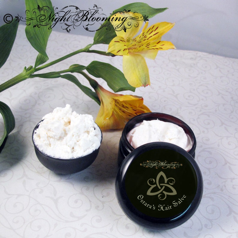 Ostara's Hair Salve  Leave in Conditioner and Deep image 0