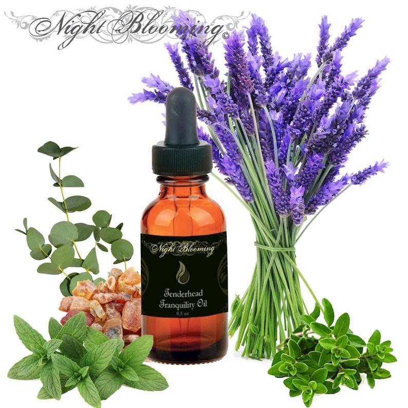 Tenderhead Tranquility Scalp & Hair Oil Signature Blend Small 1/2oz Oil Bottle