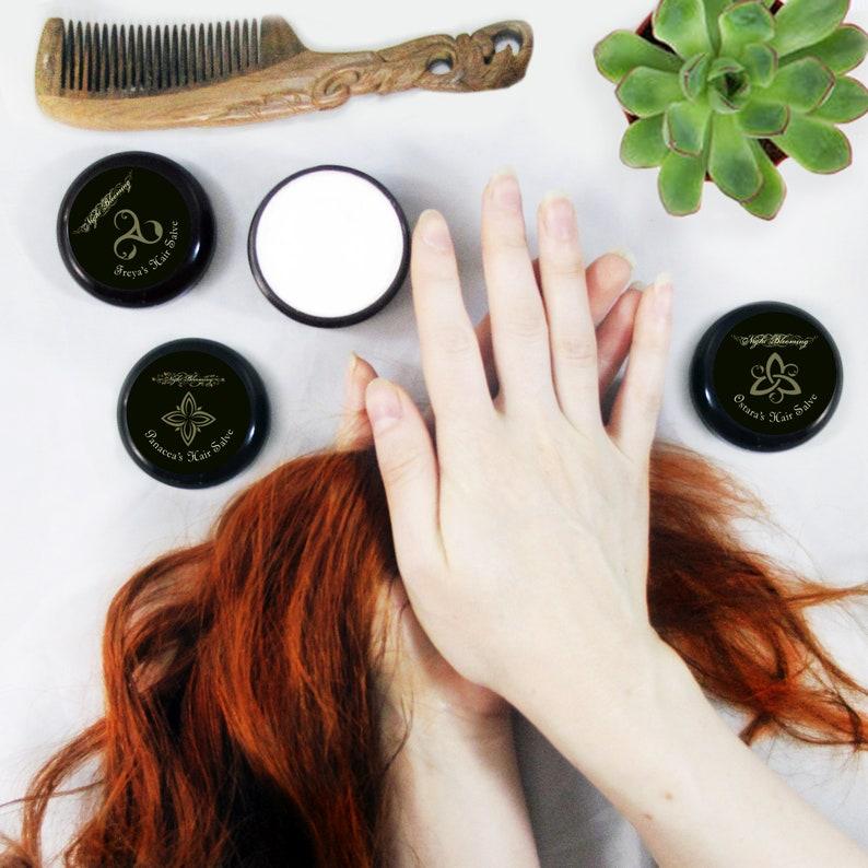 Hair Salve 2 oz Trinity Pack image 0