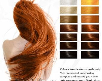 Fire Genasi: Copper Herbal Hair Color 100g