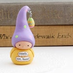 Bea's Wees Collectible Gnome- Easter Egg Hunt Figurine