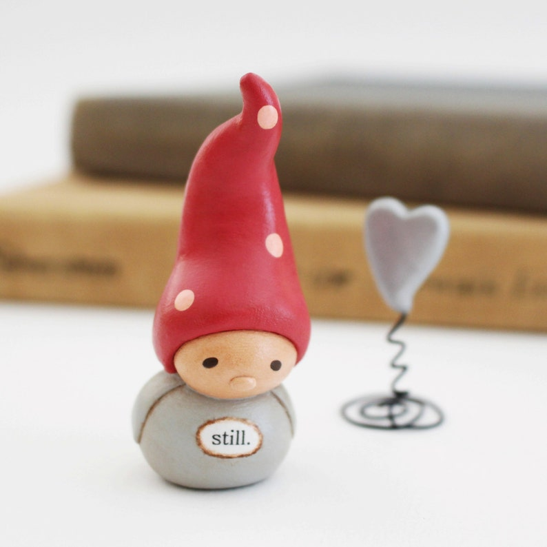 Wee Gnome and Heart. Still. image 0