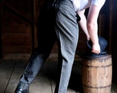 Victorian 1890s Men's Trousers 34 to 35 Waist