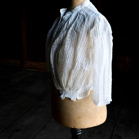 Antique Child's White Lace Blouse - image 3
