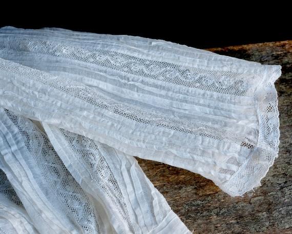 Antique Child's White Lace Blouse - image 9