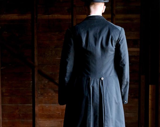 Edwardian Era 1904 Men's Frock Coat Medium Size
