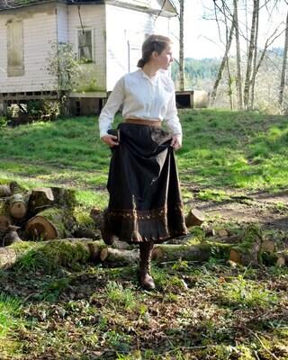 Victorian Winter Petticoat 24 Waist