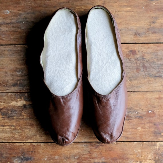 Vintage Men's House Slippers - image 3