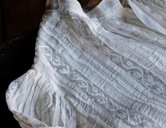 Antique Child's White Lace Blouse - image 8