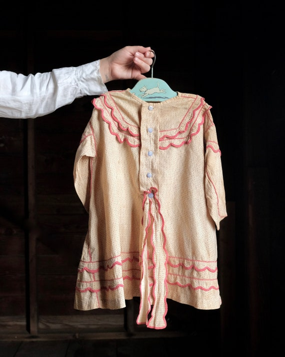 Early Calico Child's Dress