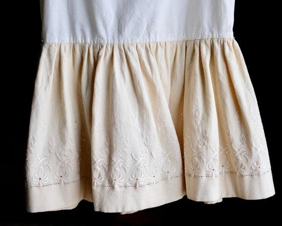 Victorian Girls Petticoat Underdress Size 4 - image 3