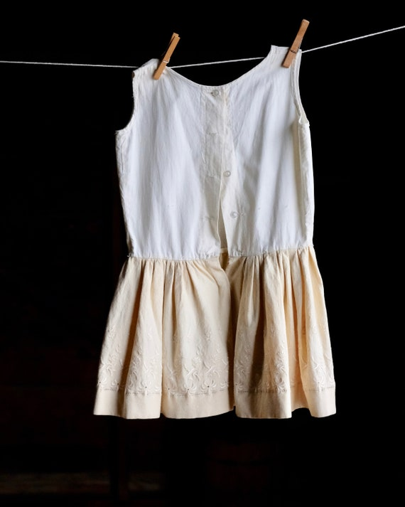 Victorian Girls Petticoat Underdress Size 4 - image 4