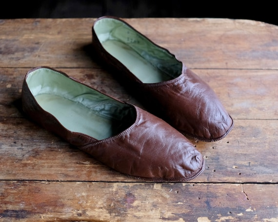 Vintage Men's House Slippers - image 2