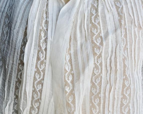 Antique Child's White Lace Blouse - image 5