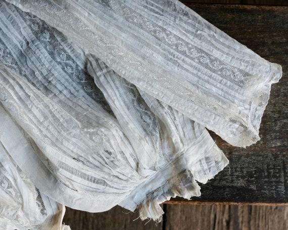 Antique Child's White Lace Blouse - image 7